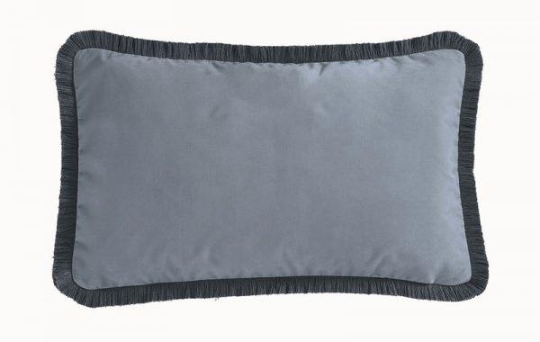 Emma J Shipley for Clarke & Clarke Kruger Rectangular Cushion Eggshell reverse
