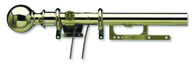 25mm Integra Telescopic Finiale Curtain Pole