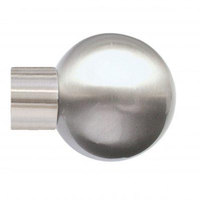 35mm Jones Strand Metal Ball Finial matt nickel