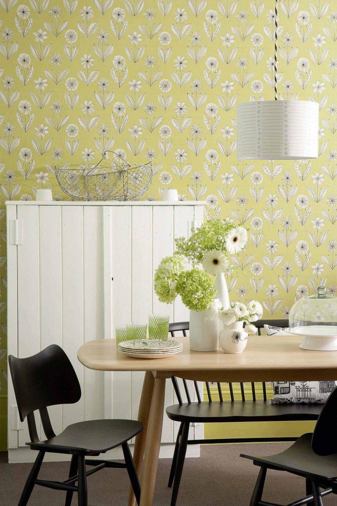 Little Greene Florette Wallpaper