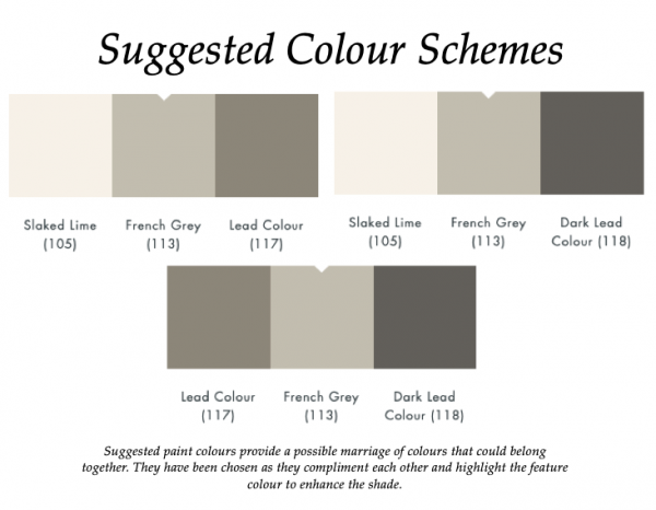 French Grey (113)_Little Greene Suggested Colour Scheme