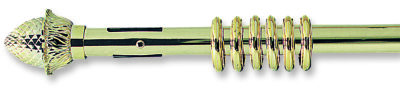 25mm Integra Golden Glide Curtain Pole