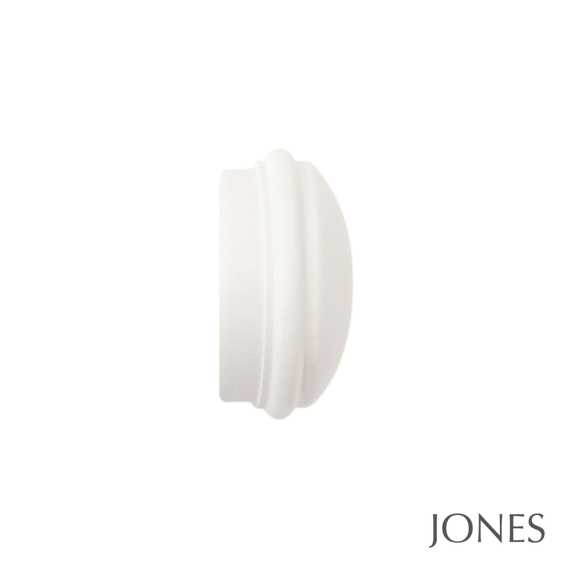 40mm Jones Seychelles End Cap Finial cotton