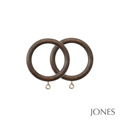 Jones Hardwick Handcrafted 40mm Curtain Rings