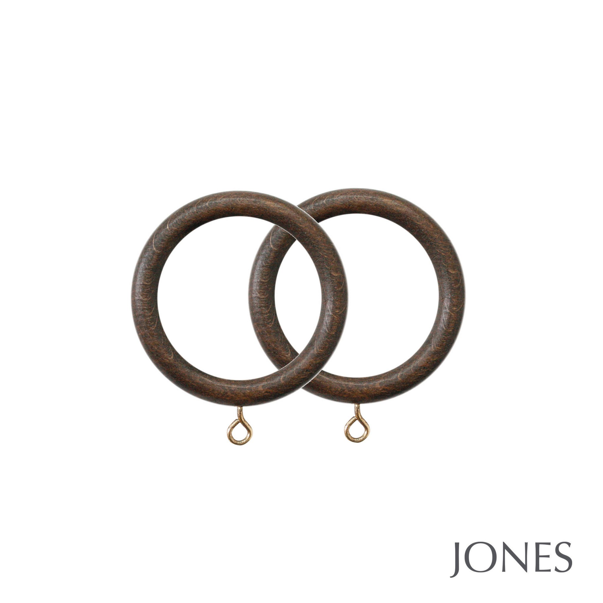 Jones Hardwick Handcrafted 40mm Curtain Rings