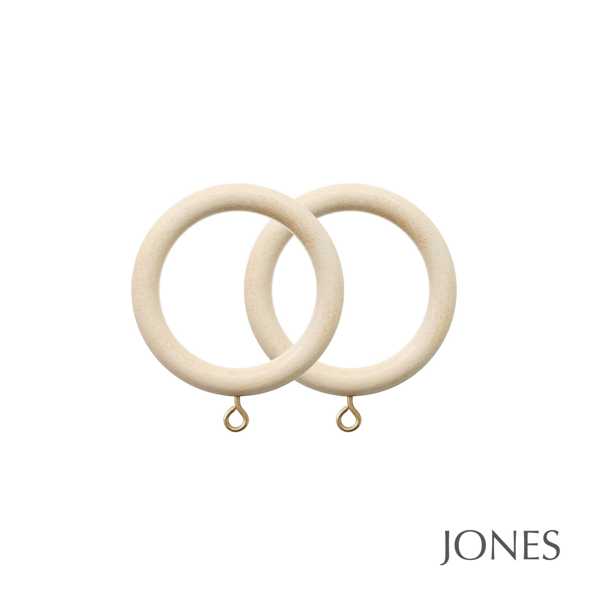 Jones Cathedral Handcrafted 30mm Curtain Rings