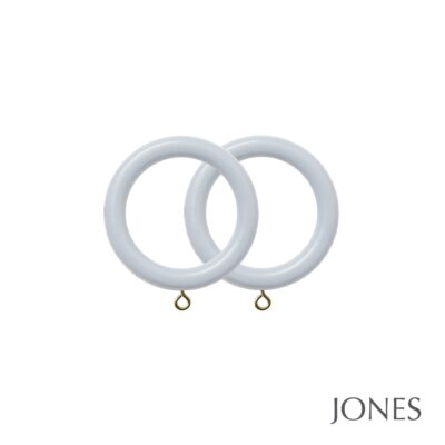 Jones Estate Handcrafted 50mm Curtain Rings