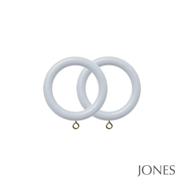 Jones Estate Handcrafted 50mm Curtain Rings