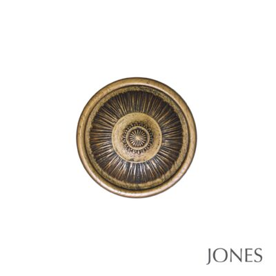 Jones Florentine Handcrafted Pleated Holdbacks