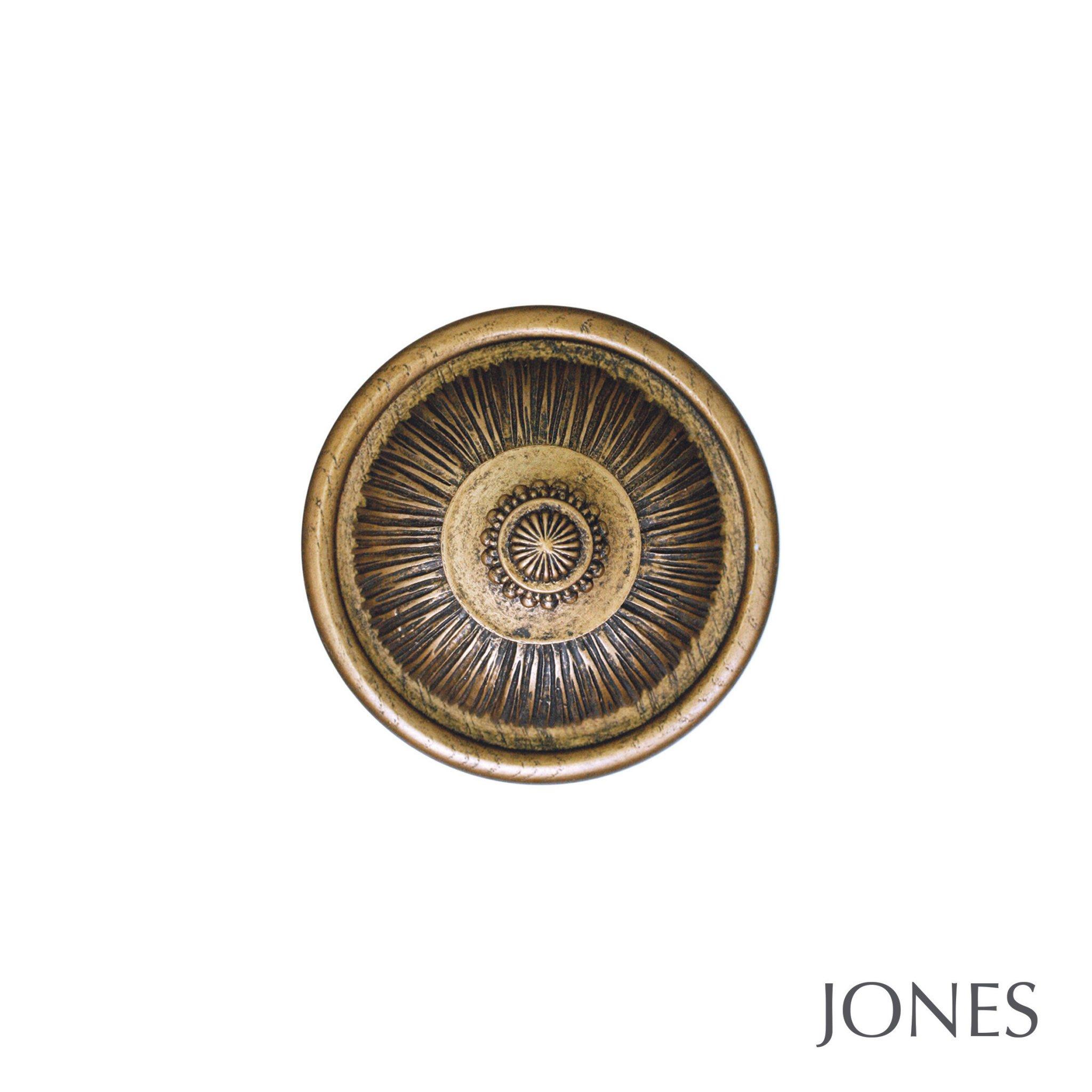 Jones Florentine Handcrafted Pleated Holdbacks