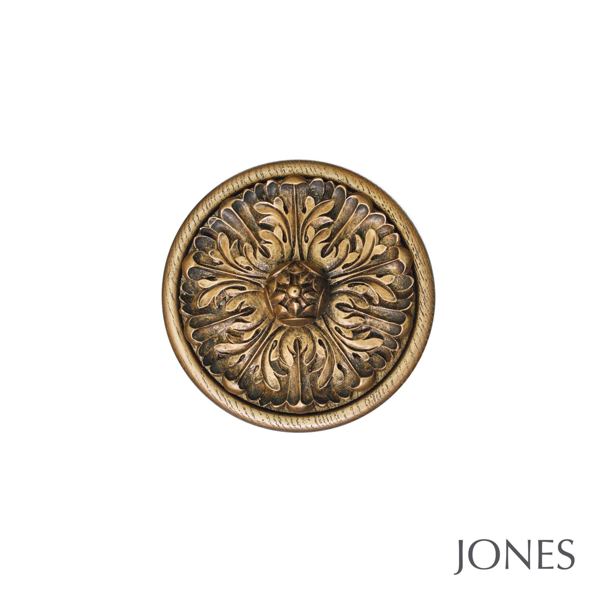 Jones Florentine Handcrafted  Acanthus Holdbacks