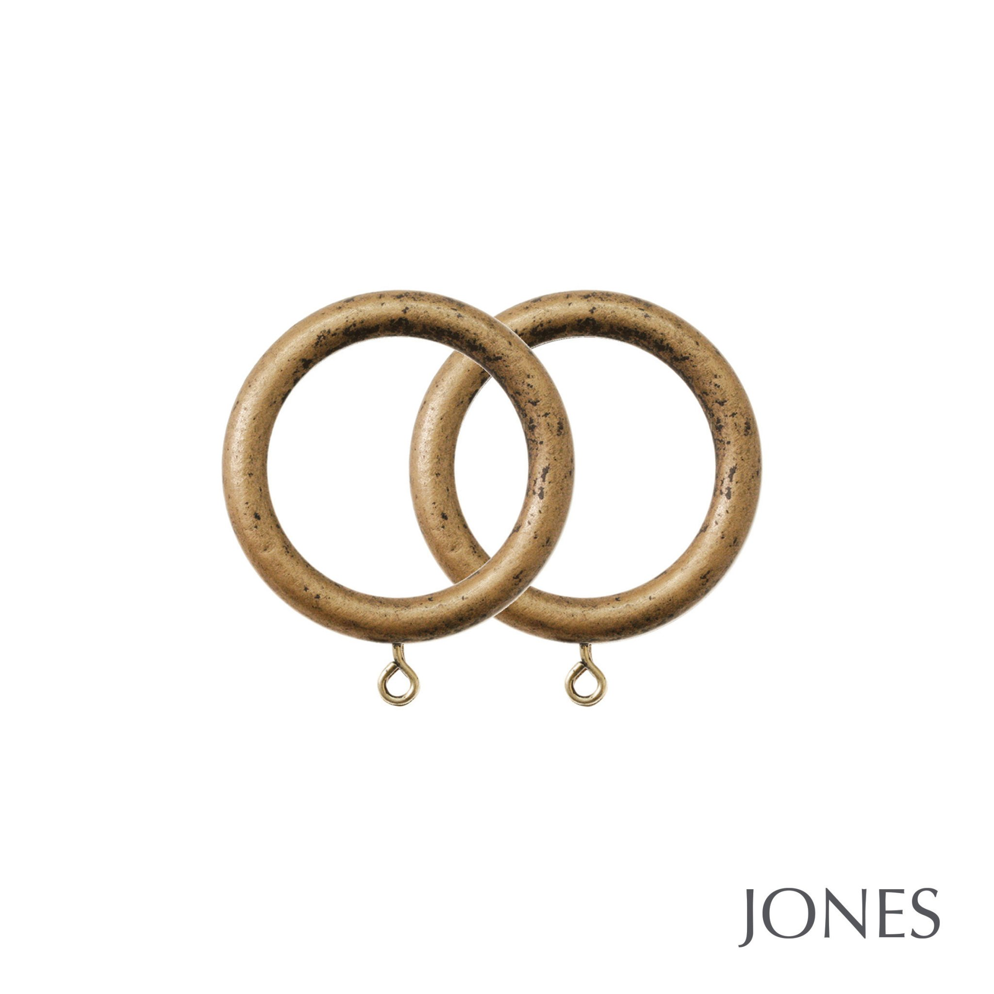 Jones Grande Handcrafted 63mm Curtain Rings
