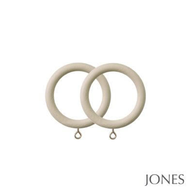 Jones Seychelles Handcrafted 40mm Curtain Rings