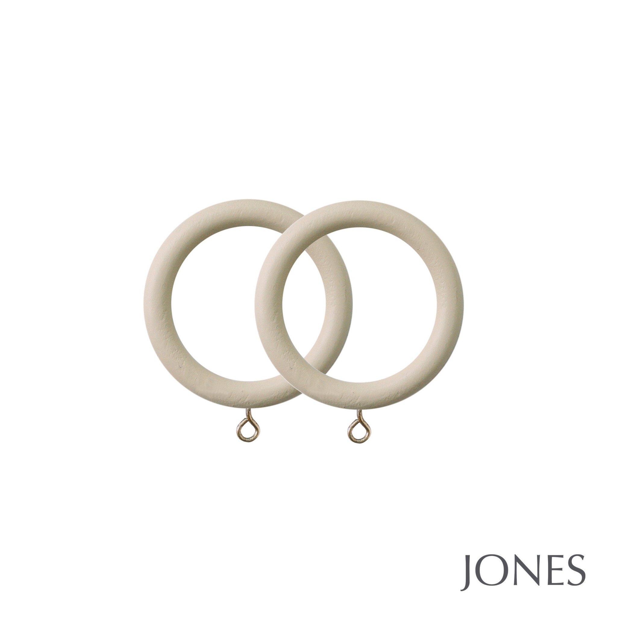 Jones Seychelles Handcrafted 40mm Curtain Rings