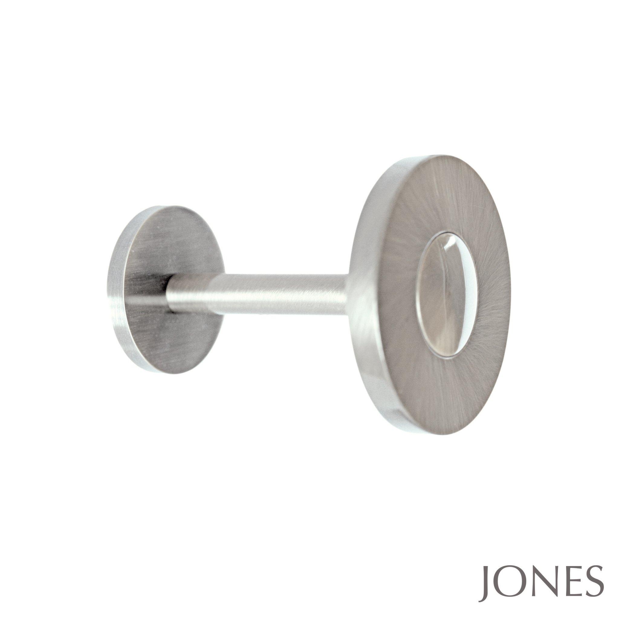 Jones Interiors 28mm Lunar Range Of Metal Amp Light Oak