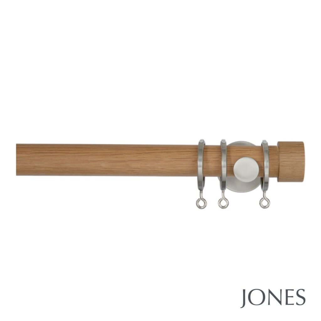 jones interiors 28mm lunar range of metal light oak. Black Bedroom Furniture Sets. Home Design Ideas