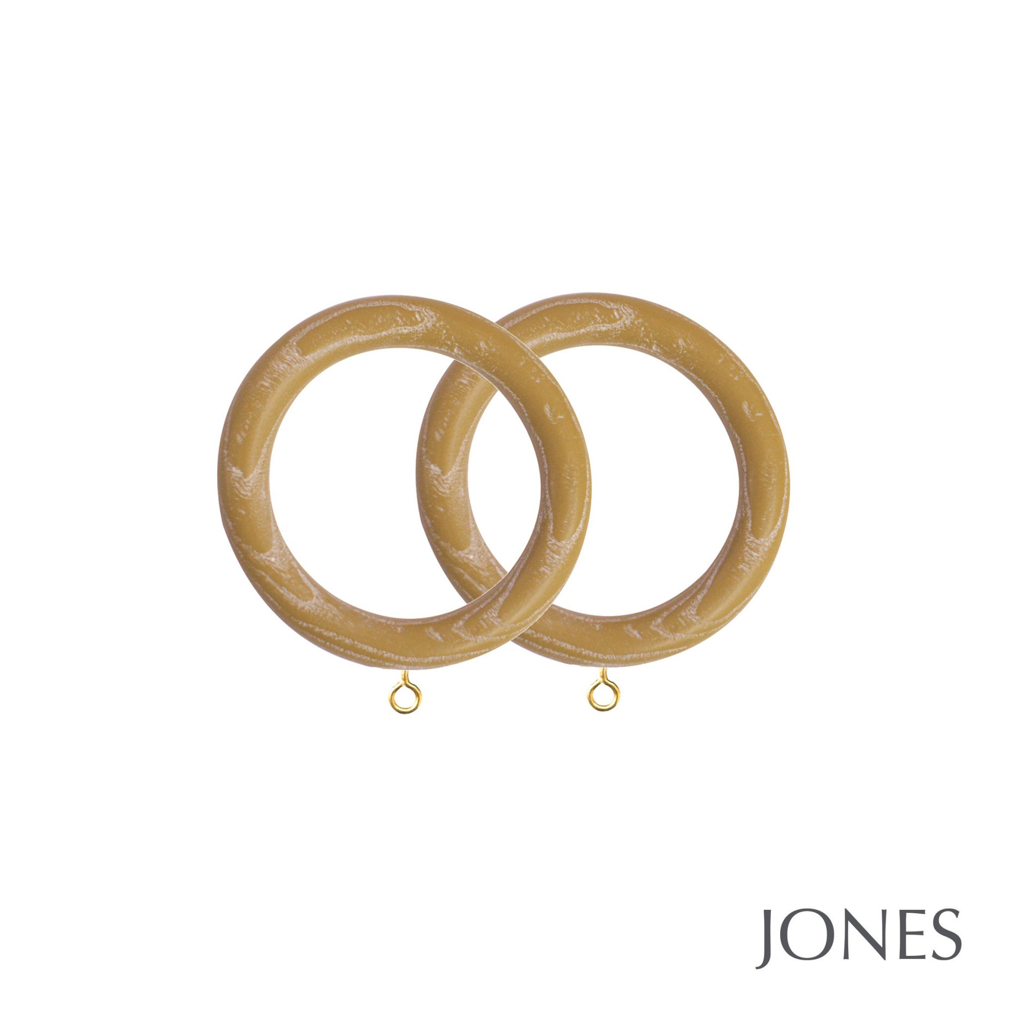 Jones Oakham Handcrafted 50mm Curtain Rings