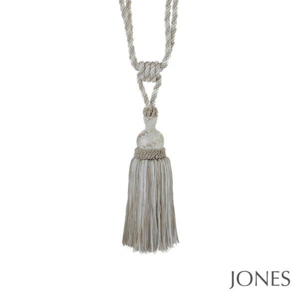 Jones Interlude Standard Curtain Tiebacks Cream