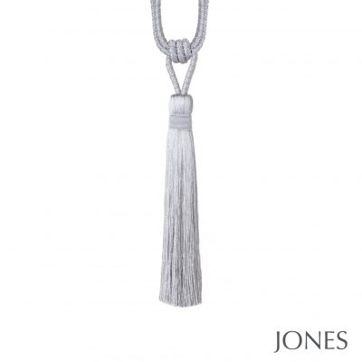 Jones Metallic Curtain Tieback Silver