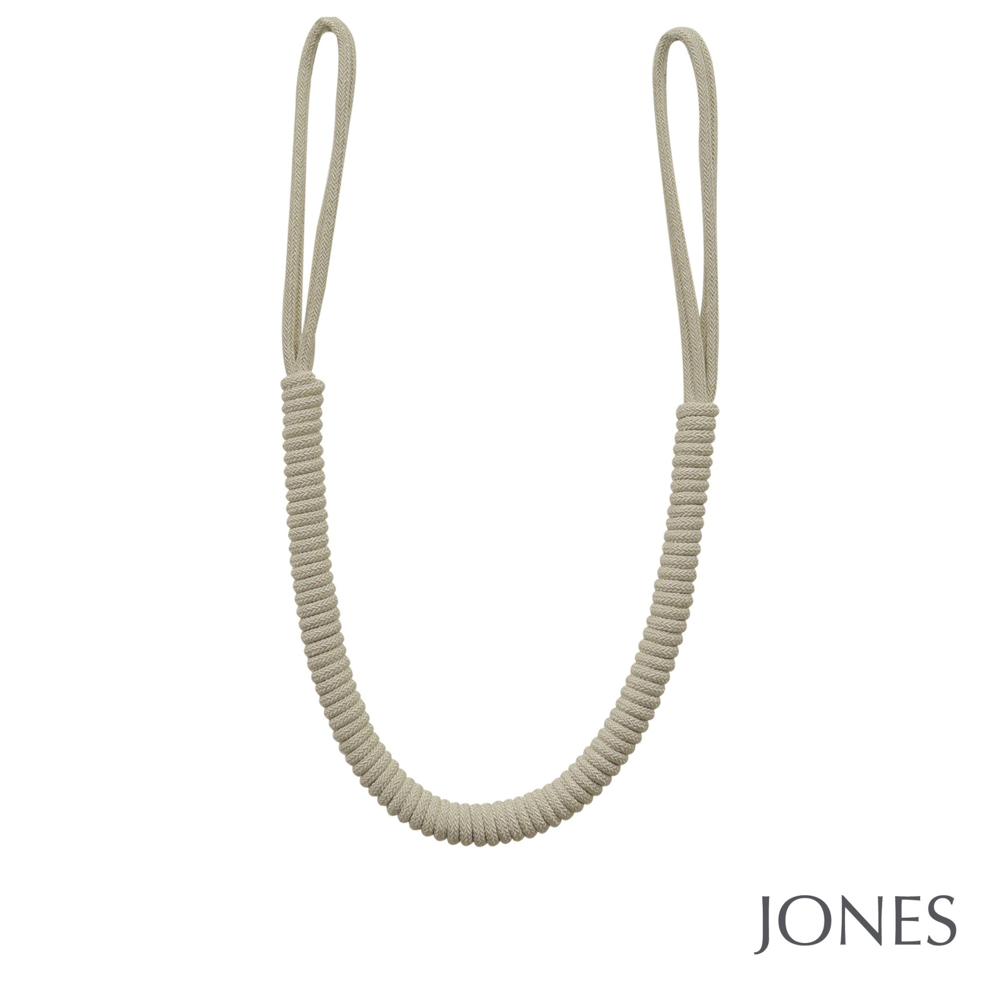 Jones Lustre Curtain Tieback Linen