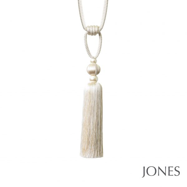 Jones Venice Curtain Tieback Vanilla