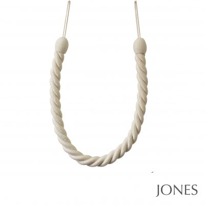 Jones Coastal Falmouth Ropes Curtain Tiebacks Cotton
