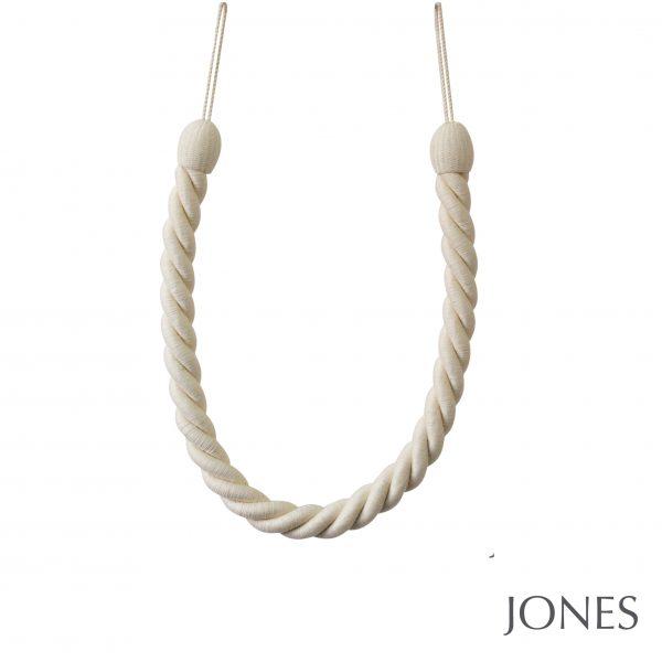 Jones Coastal Falmouth Ropes Curtain Tiebacks Cotton