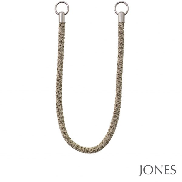 Jones Milan Rope Curtain Tiebacks Linen