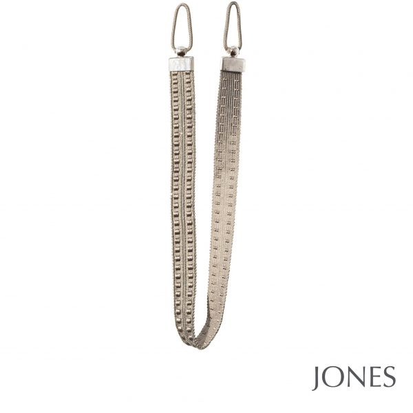 Jones Milan Embrace Curtain Tiebacks Linen