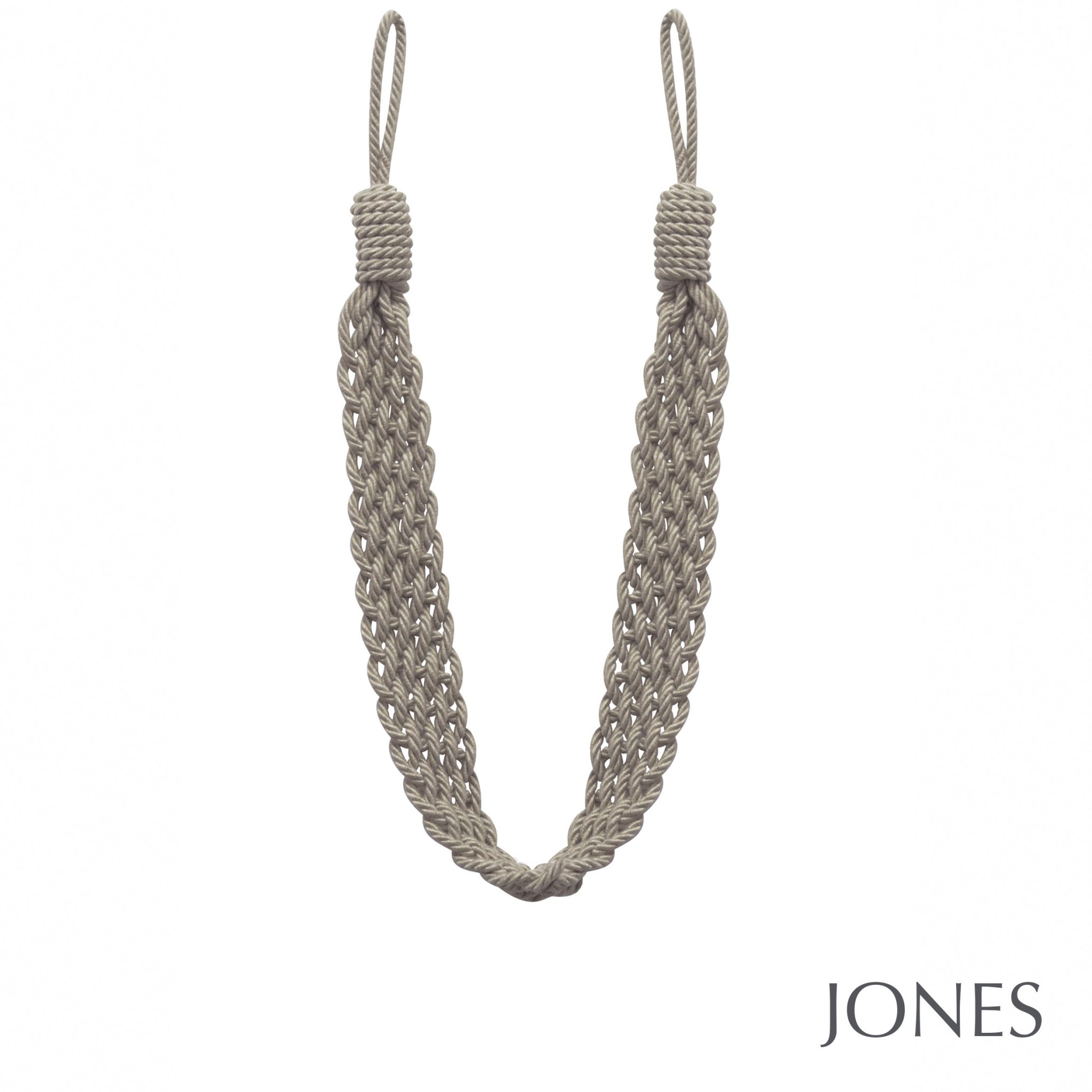 Jones Artisan Curtain Tiebacks Natural