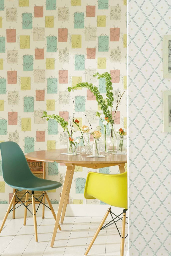 Little Greene Herbes Wallpaper