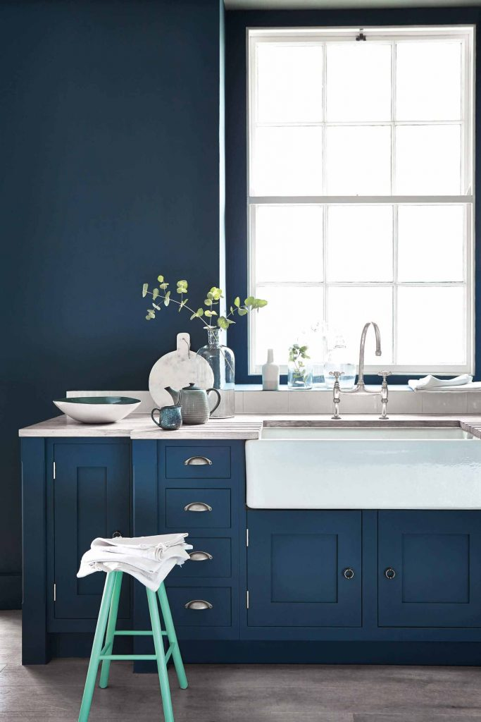 The Little Greene Paint Company Hicks' Blue (208)