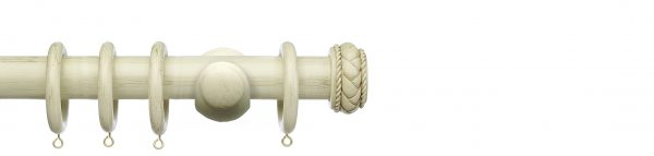 Integra Masterpiece 50mm Wooden Curtain Pole Byzantine