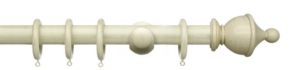 Integra Masterpiece 35mm Wooden Curtain Pole Urn