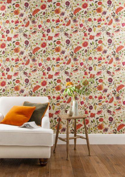 Jaipur Garden Wallpaper by Clarke