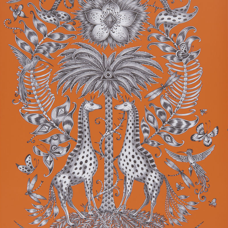 Emma J Shipley Wallpaper Kruger Flame