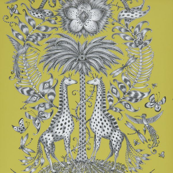 Emma J Shipley Wallpaper Kruger Lime