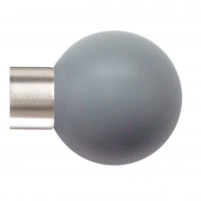 35mm Jones Strand Lead Ball Finial matt nickel