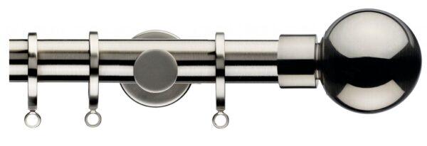 Integra Inspired Lustra 28mm Curtain Pole Sphera