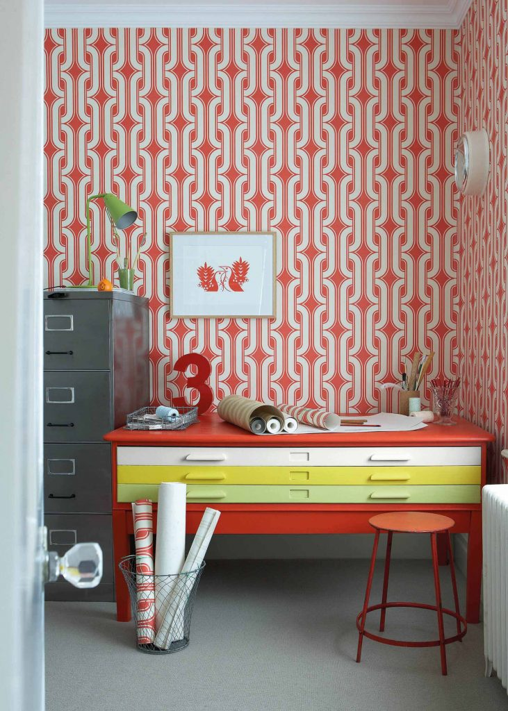 The Little Greene Paint Company Atomic Red (190)