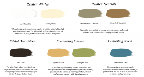 Little Greene Paint Complimentary Colours Carys 148