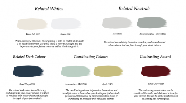 Little Greene Paint Complimentary Colours Grey Stone 276
