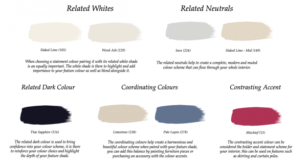 Little Greene Paint Complimentary Colours James 108
