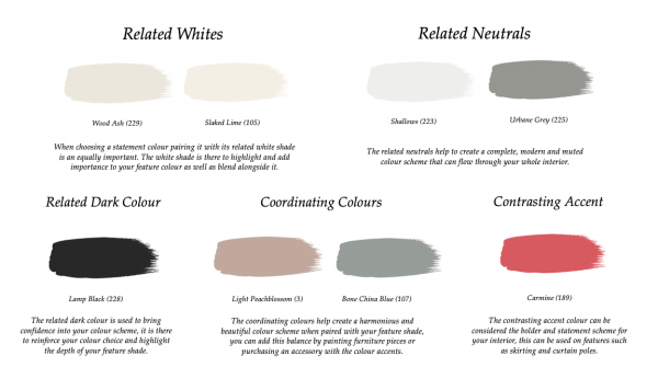 Little Greene Paint Complimentary Colours Scree 227