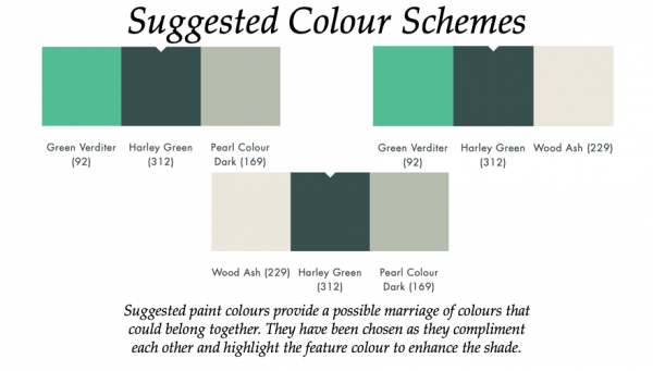 The Little Greene Paint Company Harley Green (312)