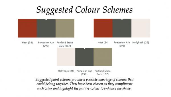 The Little Greene Paint Company Pompeian Ash (293)