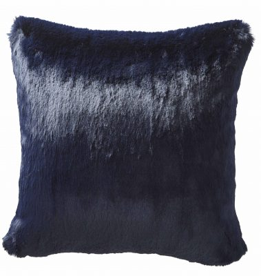 KAREN MILLEN FAUX FUR SQUARE CUSHION