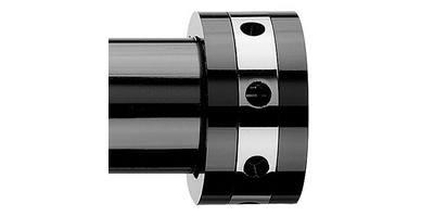 Integra Inspired Nuance 28mm Luna Finial black nickel