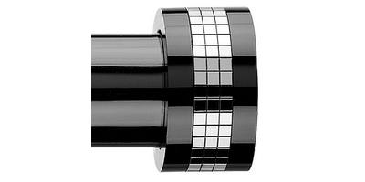 Integra Inspired Nuance 28mm Reflecta Finial black nickel