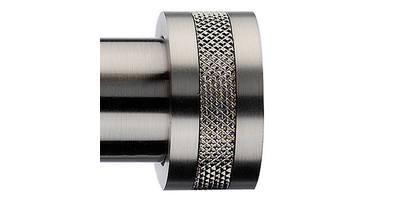 Integra Inspired Nuance 28mm Textura Finial satin nickel